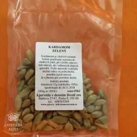 KARDAMOM - zelené tobolky