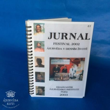 JURNAL - Záznam přednášek FESTIVAL 2002