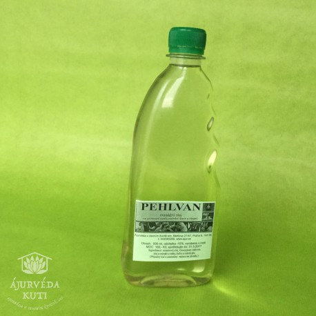OLEJ PEHLVAN - masážní olej vát pitt ÁJUR DÁTÁ