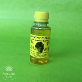 OLEJ JASMÍNOVÝ pro masáž hlavy ÁJUR KUTI - výživný vlasový olej